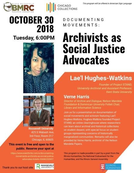 Archivists as Social Justice Activists