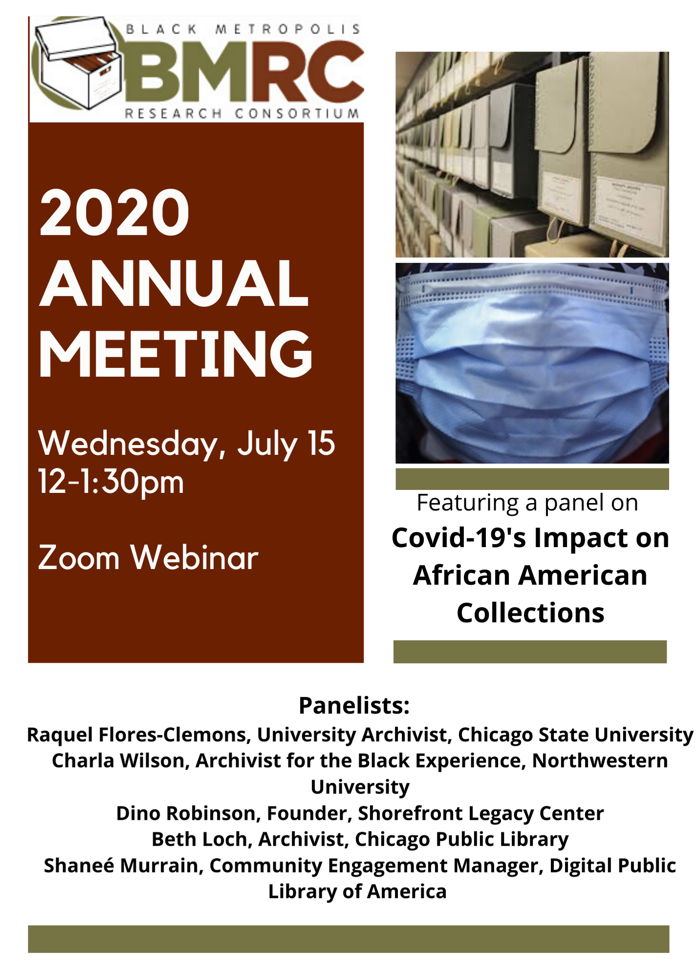 BMRC 2020 Annual Meeting Flyer